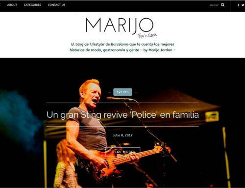Diseño blog Marijo Jordan