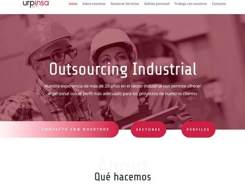 Diseño web Urpinsa