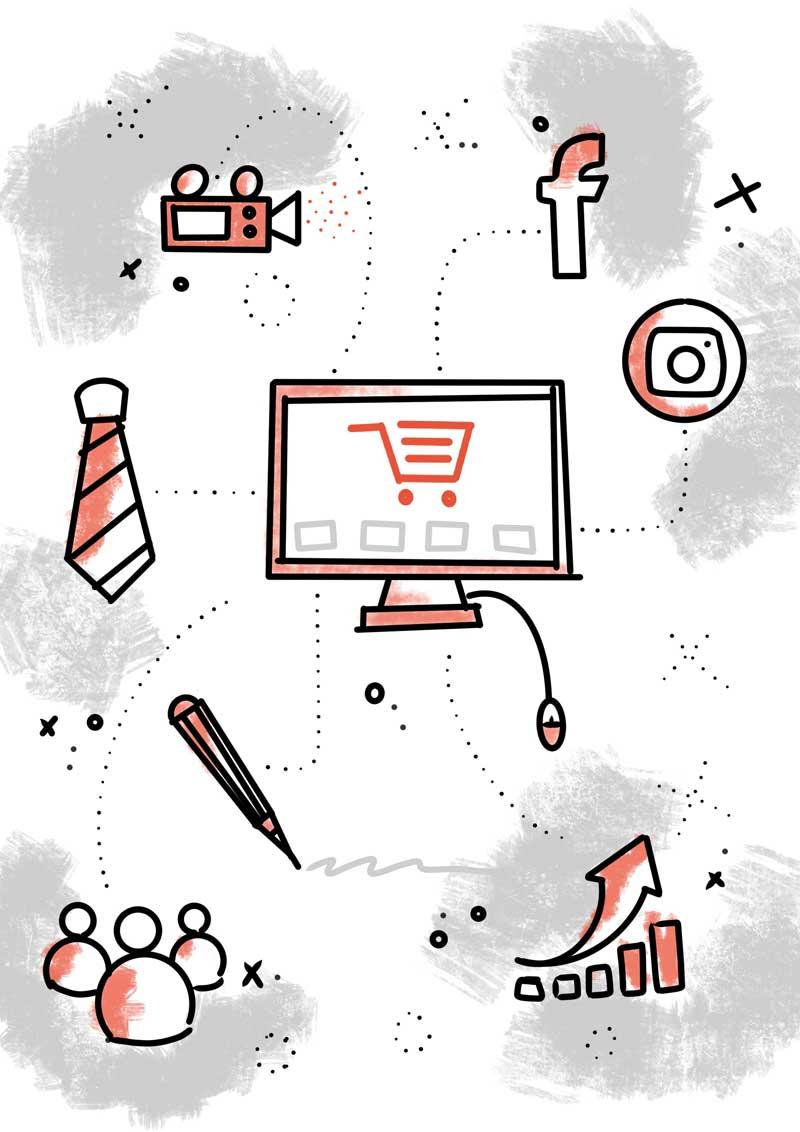 Marketing Consulting, diseño web, tiendas online, logotipo e imagen corporativa para pymes