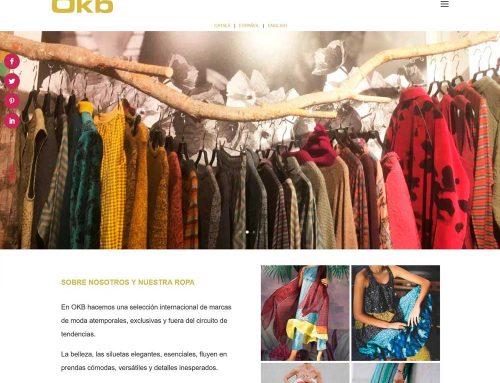 Diseño web OKB